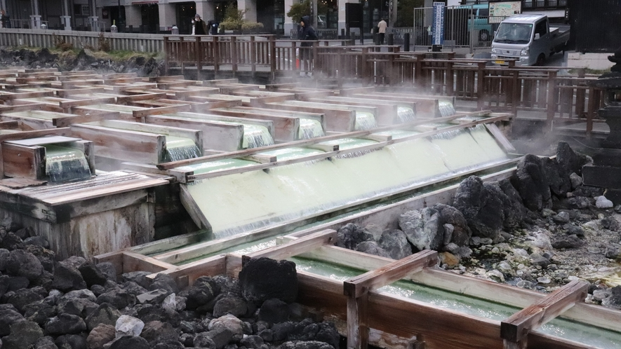 湯畑は草津温泉のシンボル
