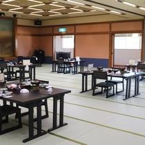 広間食事会場(椅子テーブル)