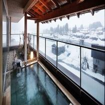 信濃の湯(雪景色)