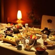 個室夕食(イメージ)