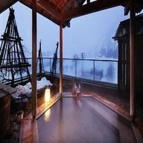 千曲の湯(雪景色)