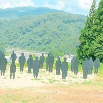 大地の芸術祭 「記憶―記録」足滝の人々