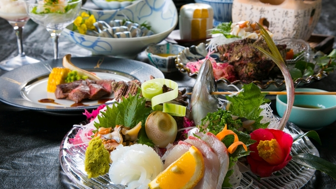≪カンパーナ極上会席≫ 〜五島牛ステーキと新鮮な魚介をお愉しみください〜