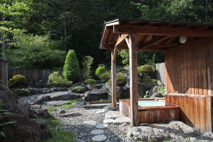 貸切園庭露天風呂