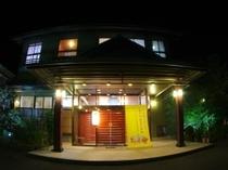 夜の玄関②