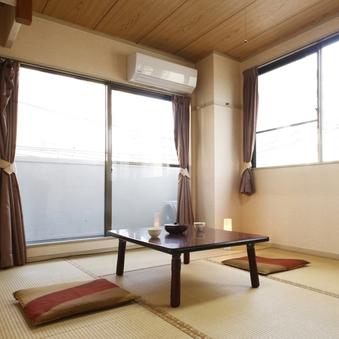 ■和室(1〜4名用)【京都タワー側】<Wi-Fi無料>