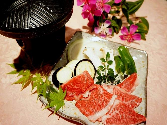希少な伊豆牛生わさびをのせてご賞味ください。(2017年1月より)