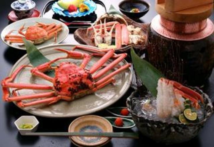 蟹のフルコース