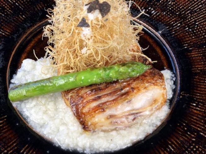 のどぐろの黒龍塩糀焼(一例です)