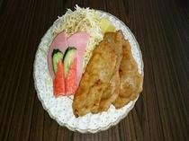 【朝食】日替わりメニュー和食・朝食生姜焼き