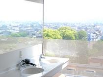 展望浴場からの風景