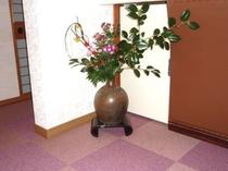 フロントのお花