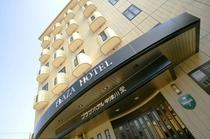 プラザホテル栄 正面玄関