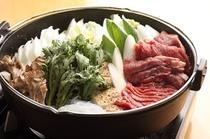 風来坊名物桜肉なべ
