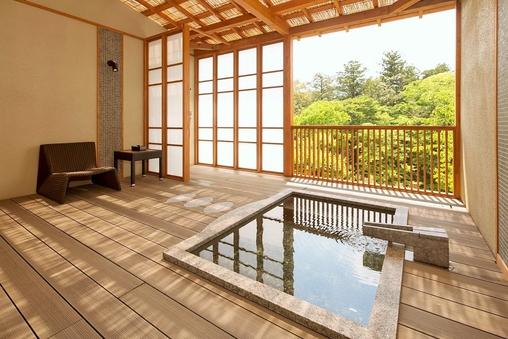 露天風呂付客室(山・あ・す)