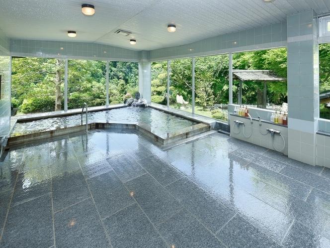 内風呂「化石の湯」