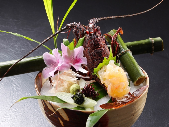 【別注料理】伊勢海老のお造り