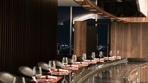 【和食ダイニング廚せん】20階/鉄板コーナー[おさふね] (廚 せん内)