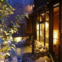 ◆女子大浴場露天岩風呂