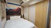 和風ダブル (14平米ベッド幅140×195センチ)◆シモンズ製べッド完備◆