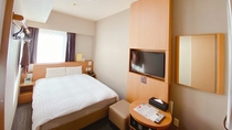スタンダードダブル (14平米ベッド140×195センチ)◆シモンズ製べッド完備◆