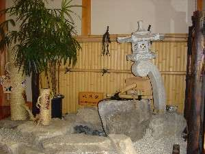 (2)【水琴窟】キンコーン…美しい音色が旅の疲れを癒してくれます