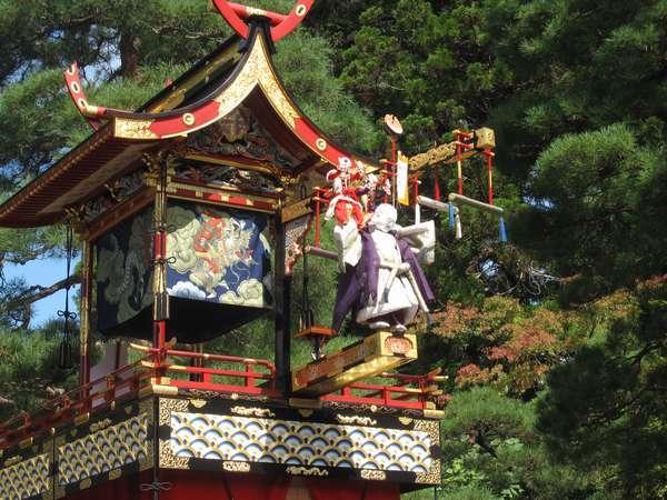 (9)秋の高山祭り 布袋台