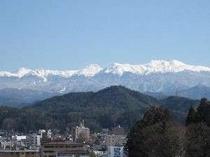①新雪を抱く冬の乗鞍岳