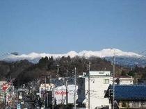 ⑤2009早春の乗鞍連峰を眺める