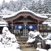 正月の正面玄関