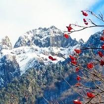 奥飛騨の風景「錫杖岳」