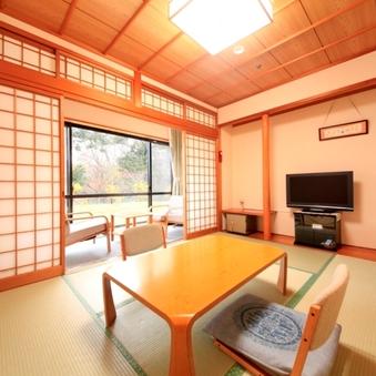 ■【禁煙】緑が見える静かな雰囲気の和室【6畳タイプ】
