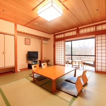 ■【禁煙】緑が見える静かな雰囲気の和室【10畳タイプ】