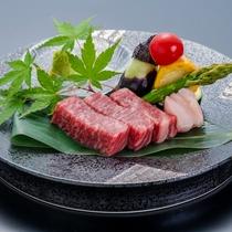 別注国産和牛のステーキ