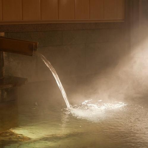 当館温泉のお湯はどなたでもご入浴いただける優しいお湯♪