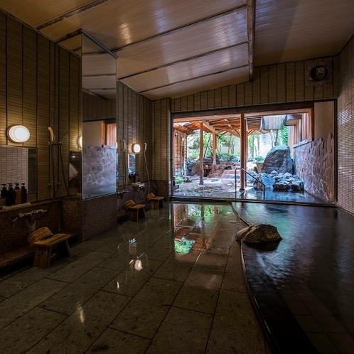 広々露天風呂付大浴場