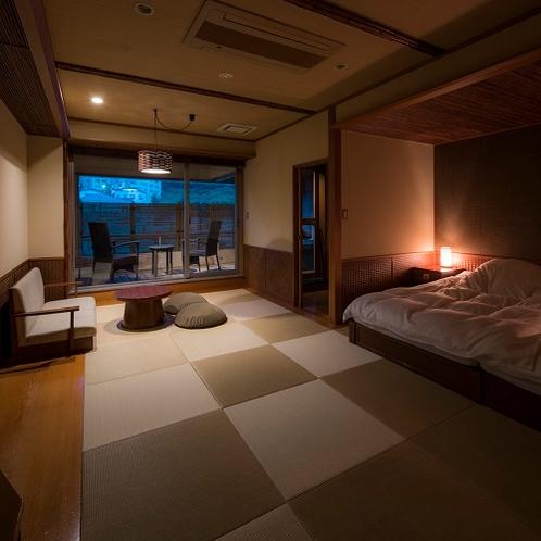 露天風呂付客室 ~居待ち月~