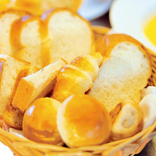 朝食ブッフェパン