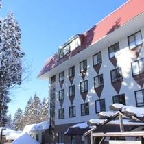 【ホテルハモンドたかみや・冬】お得にスノーレジャーと温泉を楽しむカジュアルホテル!ゲレンデまですぐ