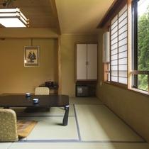 【スタンダード和室】蔵王の四季を眺めながら、和の雰囲気の中でゆったり寛ぐ※広さ:10畳