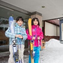 【お得なスキーレンタル】宿泊者割引で半額。提携レンタルまで徒歩3分!