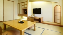 【本館】和室(一例)/和に徹した匠の空間から、なごみあふれるくつろぎとやすらぎが生まれます。