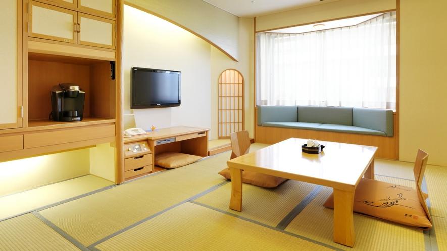 【本館】和室(一例)/端正な和様式は、人の心と体をやさしく包み込んでくれます。