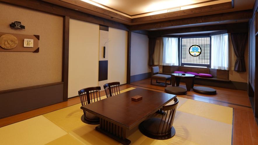 【レラの館】和室(一例)/阿寒の文化とモダンな佇まいを融合させたデザイナーズルームです