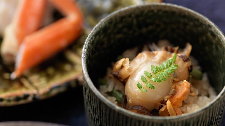 ■まりも膳/旬の味覚や秀逸な食材を取り揃えた和食をお愉しみください。(写真は一例)