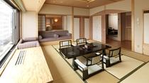 【別館】和洋特別室 一例/高層階にある広々とした和洋室。