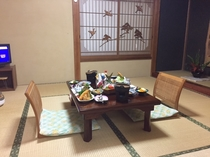 お食事部屋(個室)