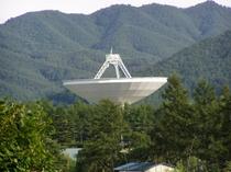 野辺山 国立宇宙観測所 パラボナアンテナ観測