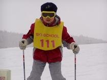 清里スキー場 スキースクール生