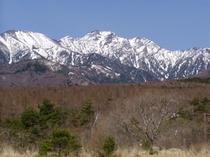 春の権現岳4.20